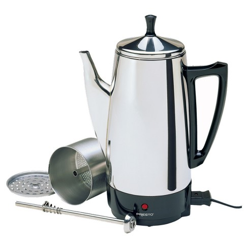 Presto 02811 12 Cup Stainless Steel Coffee Maker