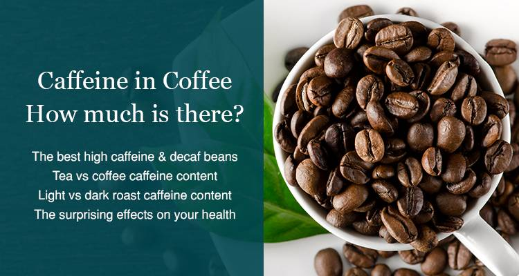 How much caffeine in decaf coffee image